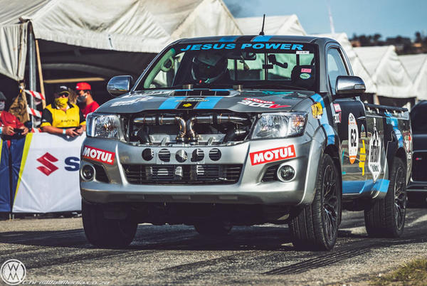 Picture for This Madman Dropped A Twin-Turbo V12 Into A Toyota Hilux