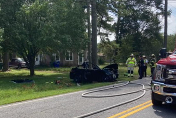 Picture for Man dies in Whaleyville crash
