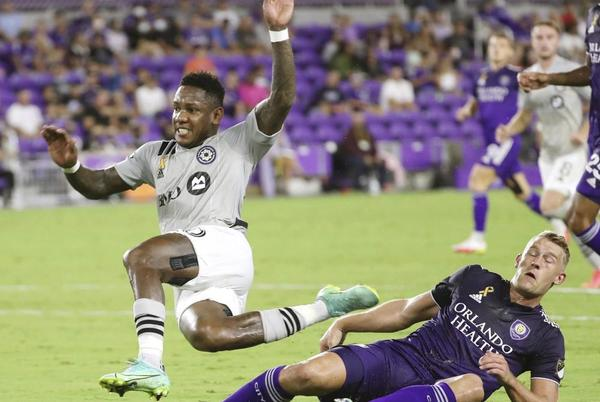 Picture for Romell Quioto, Montreal beat short-handed Orlando City 4-3