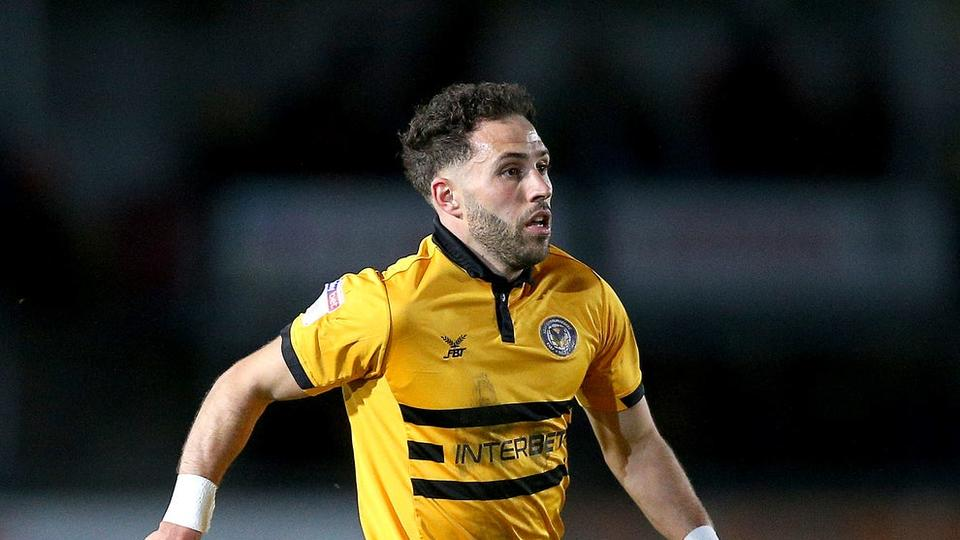 Picture for Exeter loanee Robbie Willmott sits out League Two clash with parent club Newport