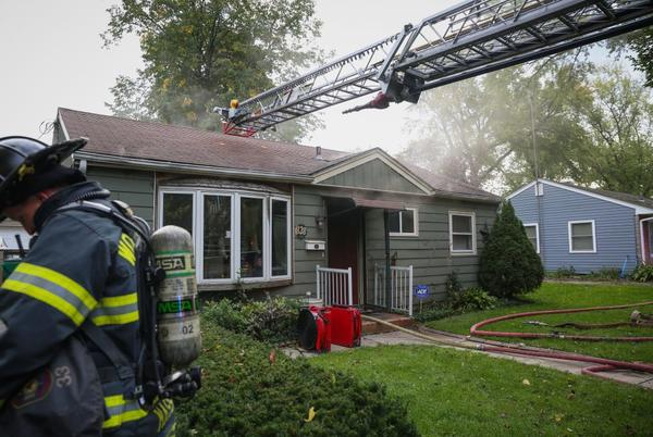 Picture for Fire drives resident, dog from home on Meadow Avenue