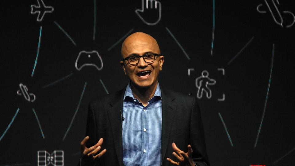 Picture for Accolades for Nadella from home state Andhra