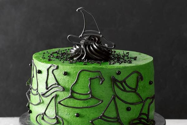 Picture for Halloween Witch Cake