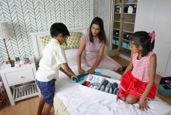 Picture for Tidying takes off during Covid-19: Teaching kids by example