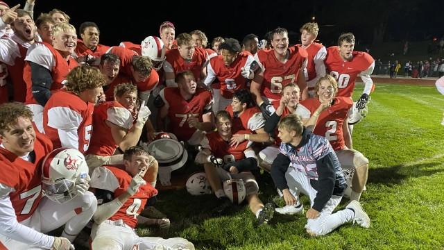 Cover for Whitehall wins the bell, 1st conference championship in 22 years by beating Montague