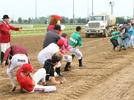 Picture for Jockeys, team members support PDJF at Indiana Grand