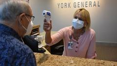 """Cover for York General and the CDC agree . . . """"masks up"""" in healthcare environments"""