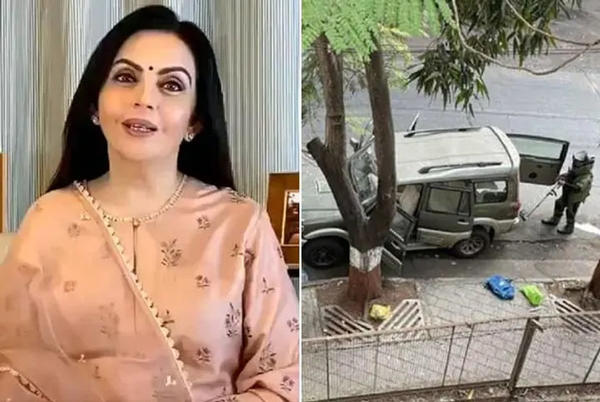 Picture for Nita Ambani cancelled trip to Gujarat after explosives-laden SUV was found outside 'Antilia': Security staff tells NIA