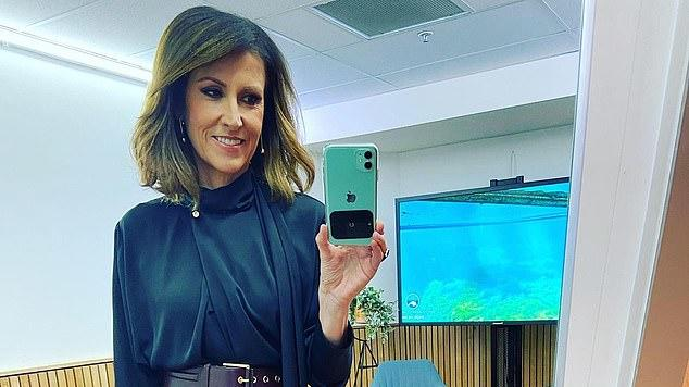 Picture for Sunrise host Natalie Barr reveals she struggled with motherhood when her sons were young and even went back to work early because she 'found it hard to be at home with kids'