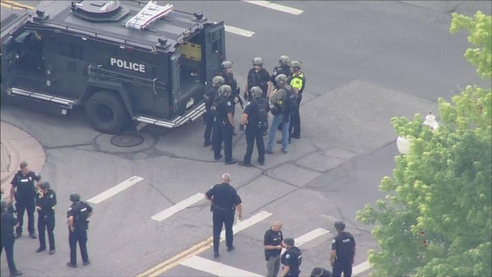 Picture for 3 Dead In Olde Town Arvada Shooting, Including 1 Arvada Police Officer, Suspect