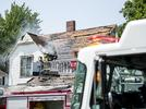 Picture for House fire closes part of Broadway in Bay City's South End
