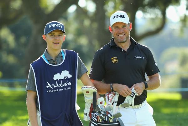 Picture for Who is Lee Westwood's son, Sam, the golfer's Ryder Cup caddie?