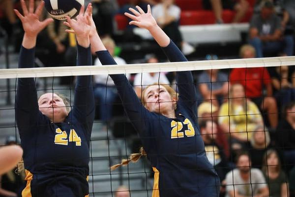 Picture for High school volleyball: Notre Dame wrests crown from Holy Trinity