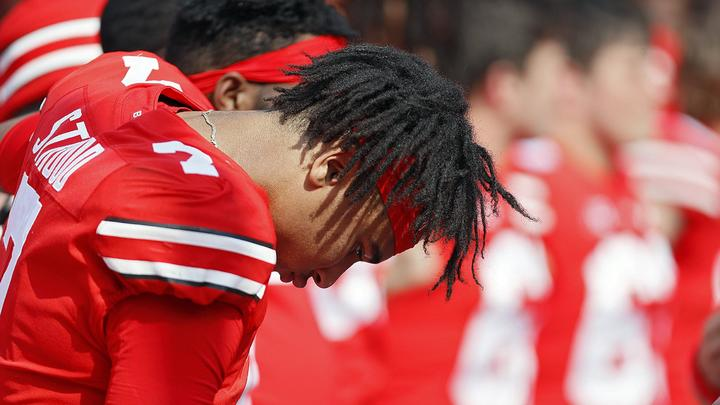 Cover for Bad news for Ohio State