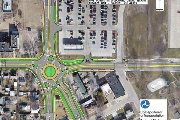 Picture for House to be removed to make room for Five Points roundabout
