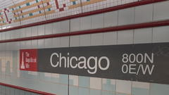Cover for Up to a dozen teens beat, rob girl at Chicago Red Line station
