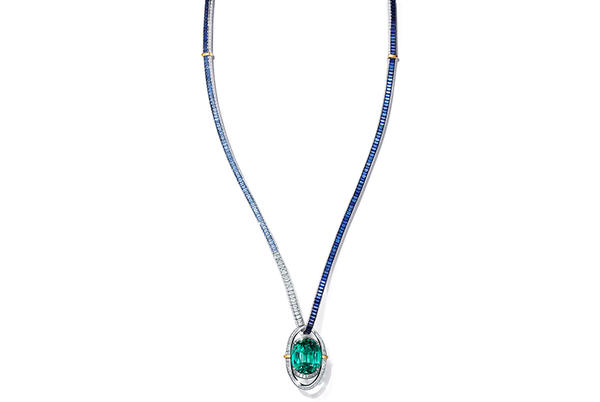Picture for Robb Recommends: Tiffany's Enchanting High-Jewelry Necklace Conjures the Sea