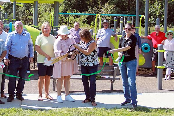 Picture for New playground opens to the public in the heart of Troy
