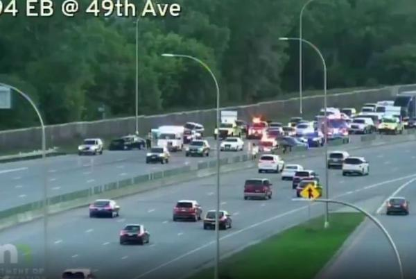 Picture for Crash With Injuries Delays Traffic On I-94 In Minneapolis