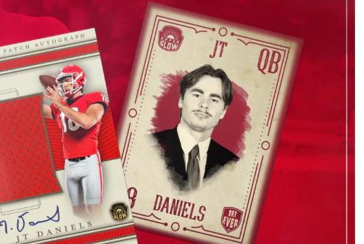 Picture for Georgia football success means bigger trading card cuts for JT Daniels and Bulldogs