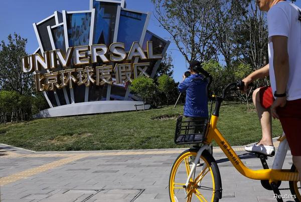 Picture for Xi's celebrity crackdown no match for Universal Studios in China
