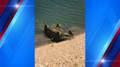 Cover for Crews recover car from Pineview Reservoir