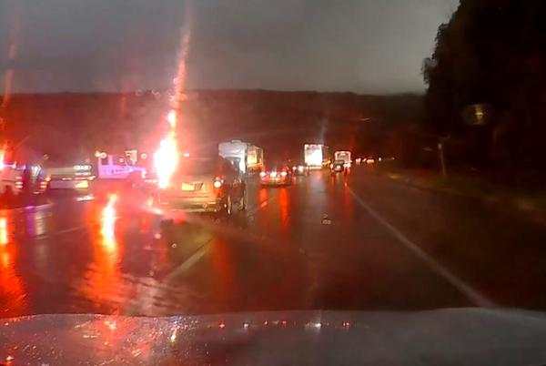 Picture for RV crash ties up traffic in Luzerne County