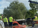 Picture for Alcohol Suspected In Truck Rollover That Blocked Highland Road