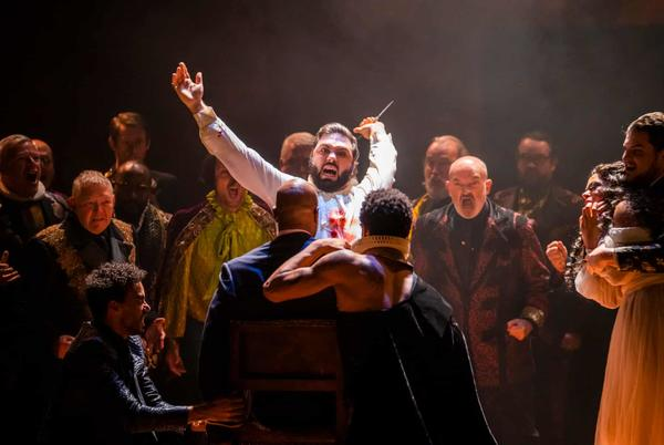 Picture for Rigoletto; London Symphony Orchestra/Rattle – review