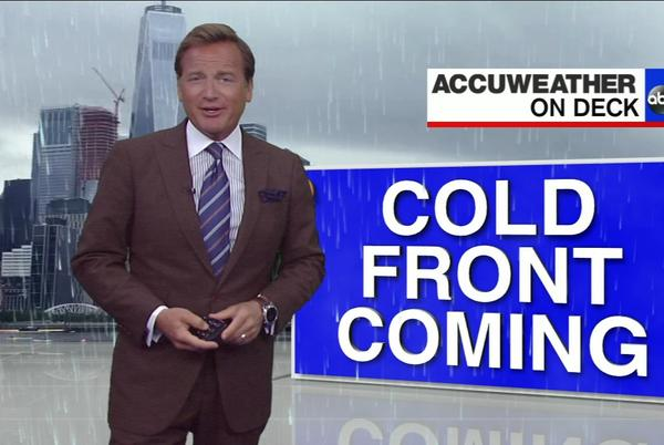 Picture for AccuWeather: Warm for fall