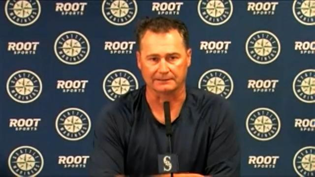 Picture for Seattle Mariners   Scott Servais on loss to Astros
