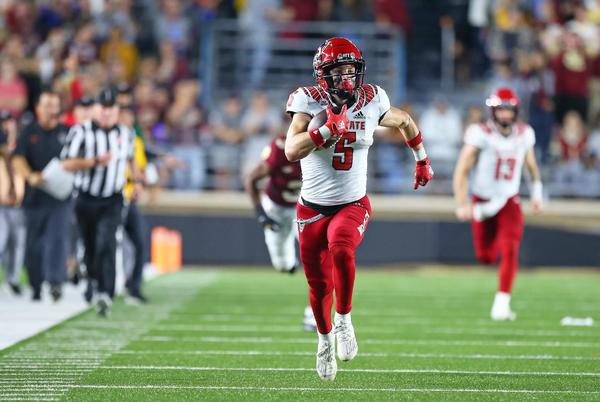 Picture for NC State moves up to #18 in Week 8 AP Poll
