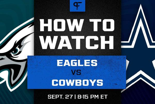Picture for Eagles vs. Cowboys prediction, odds, line, and how to watch the Monday Night Football game