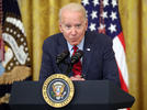 Picture for Biden whispers repeatedly during 'really creepy' Q&A