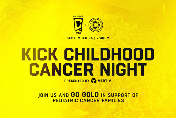 Picture for GO GOLD | Supporters encouraged to wear gold-colored gear on Saturday vs. CF Montreal in support of pediatric cancer families