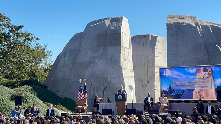Cover for Ten Year Anniversary of MLK Memorial Brings Big Speakers