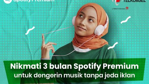 New And Existing Telkomsel Customers Can Now Get Three Months Of Spotify Premium At No Charge News Break