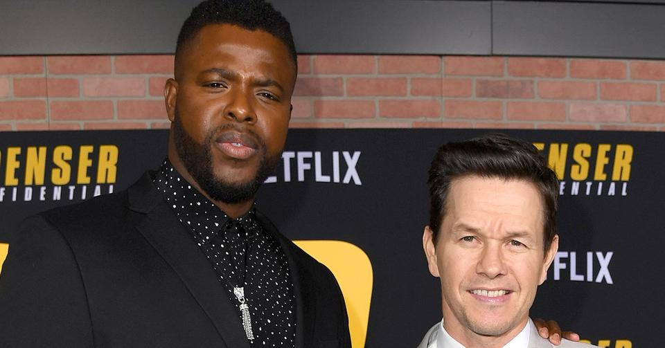 Actors Mark Wahlberg And Winston Duke Talk About Filming New Film Spenser Confidential