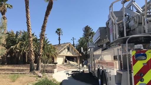 Henderson Clark County Firefighters Respond To House Fire In Southeast Valley News Break
