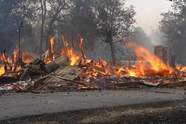 Picture for Fawn Fire: Raw video of devastation caused by the Fawn Fire