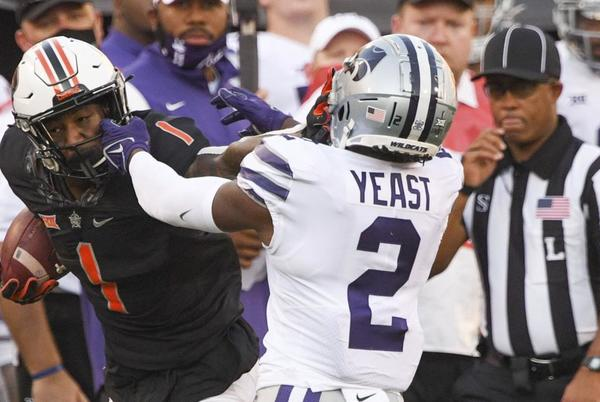 Picture for 'I just felt like a kid in a candy store…': Martin, healthy playmakers boost OSU offense in 31-20 win over No. 25 K-State