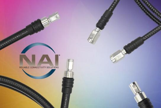 Picture for NAI Introduces Flexible Coax Assemblies with Nex10 Connectors