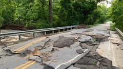 Cover for Debris, water still obstructing Monroe County roads; officials urge patience, caution