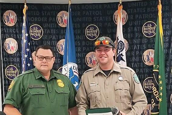 Picture for USBP leadership lauds Texas Game Warden