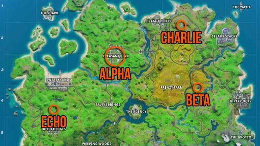 Fortnite Shadow Safe Houses Locations Where To Find Them All News Break