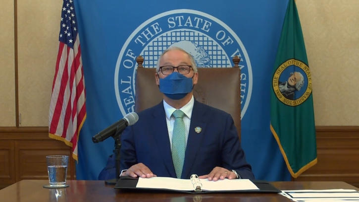Picture for Gov. Inslee repeals trio of pandemic-related proclamations as state approaches reopening