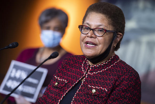 Picture for Rep. Karen Bass running for Los Angeles mayor