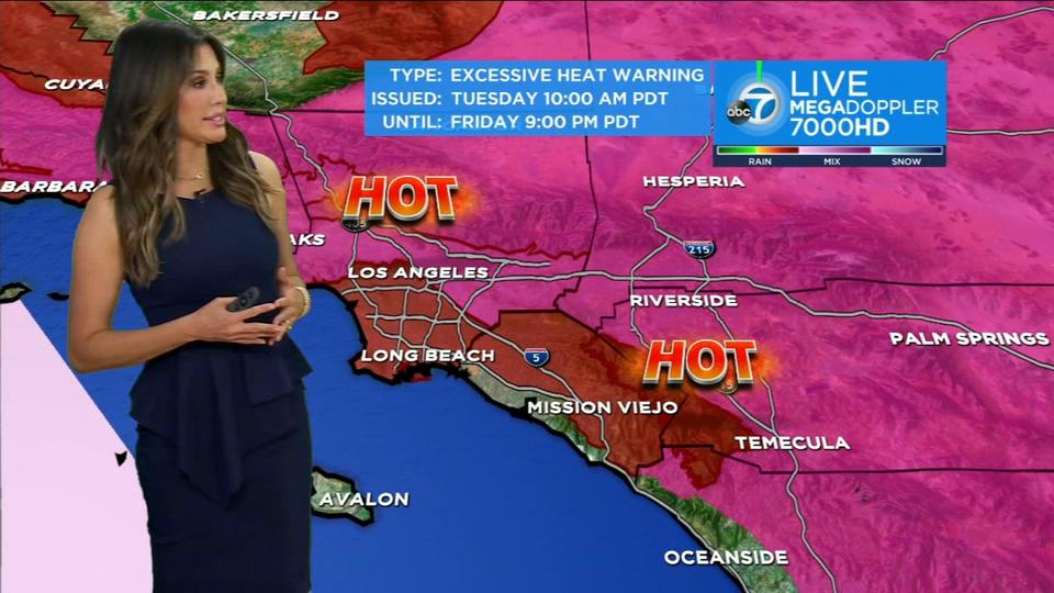 Picture for Southern California weather: Hot temperatures expected all week