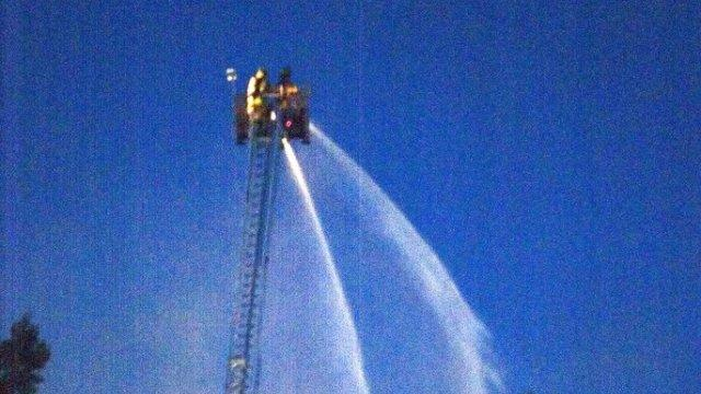 Picture for Quincy Fire Dept. to receive check for new aerial ladder fire truck