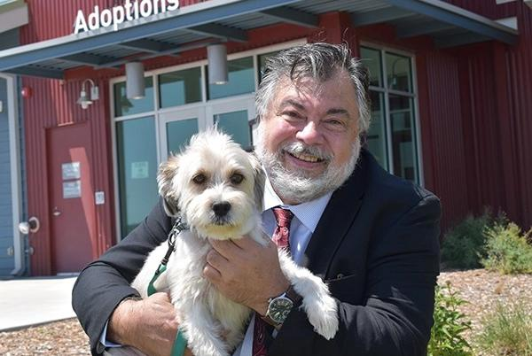 Picture for Larimer Humane Society names Nicholas Gilman as new CEO